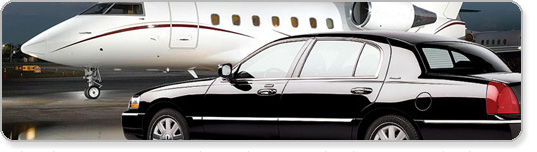 Airport transportation limo